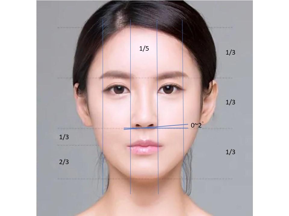 鼻整形臉部比例-1